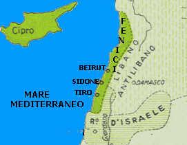 Cartina Geografica Dei Fenici.Storymapjs I Fenici
