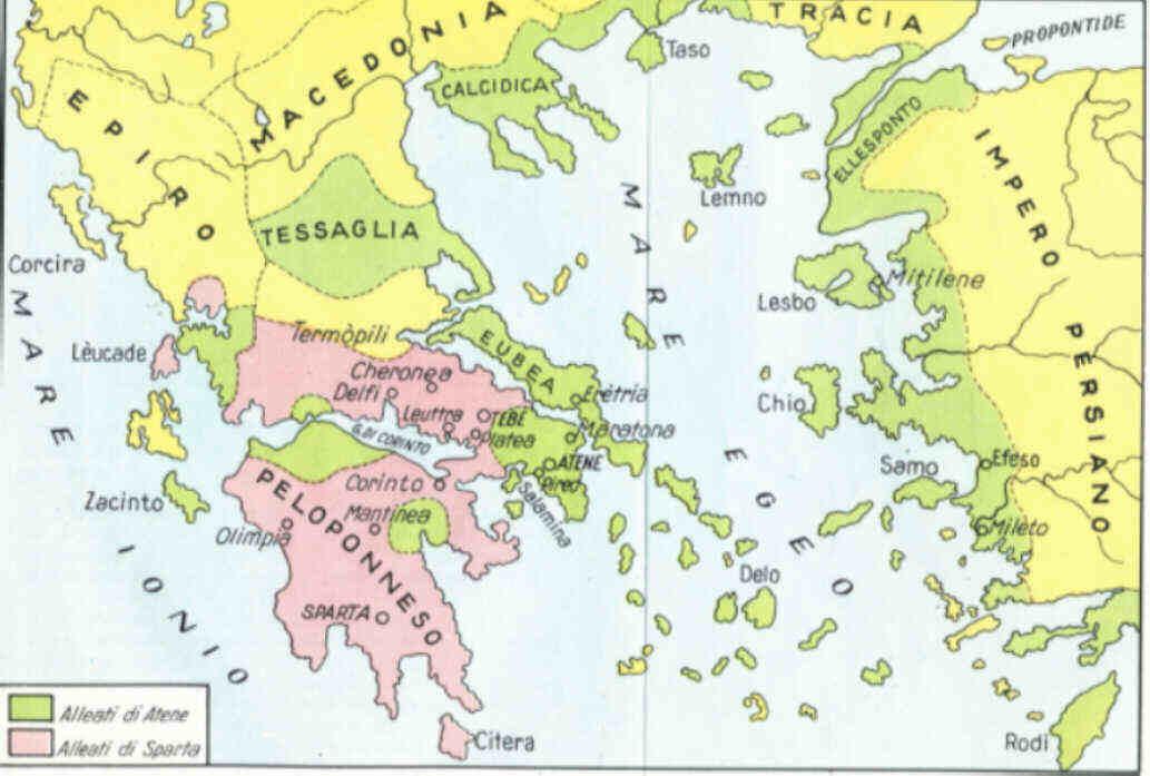 Cartina Puglia Grecia.I Greci Scuola Superiore