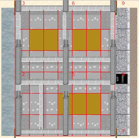 Muratura in fondazione costruzione virtuale di una casa for Costruire una casa virtuale online